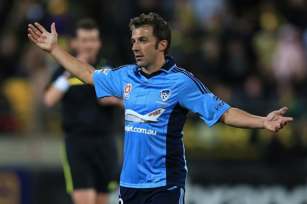 World Football Gossip Roundup: Alessandro Del Piero, Frank Lampard, Burak Yilmaz