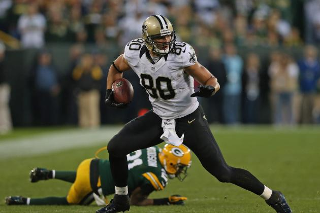 Jimmy Graham: 5 Fantasy Football Alternatives to Injured Saints TE