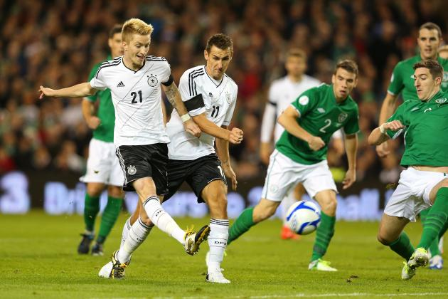 Reus Can Exceed Oezil & Other Things to Take from Germany's Drubbing of Ireland