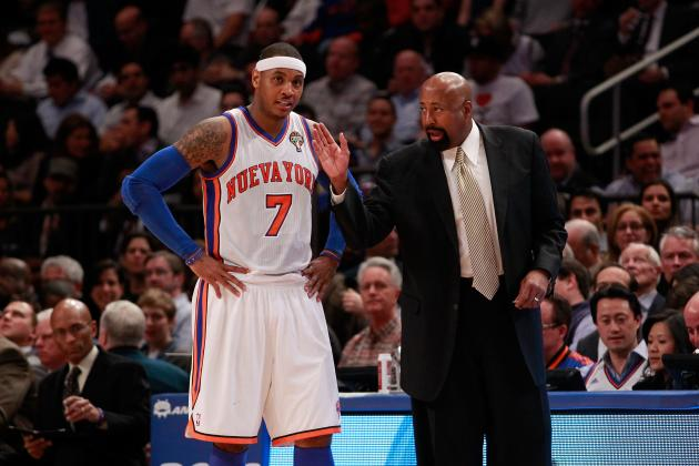 Defining the New York Knicks' Offensive and Defensive Strategy for 2012-13
