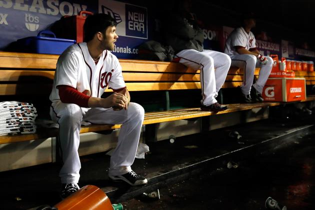MLB Playoffs 2012: 5 Biggest Goats for Nationals in NLDS Loss to Cardinals