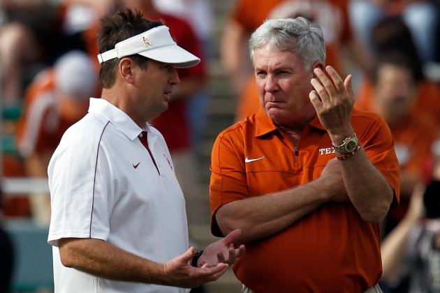 Red River Rivalry Embarrassment Proves It's Time for Texas HC Mack Brown to Go