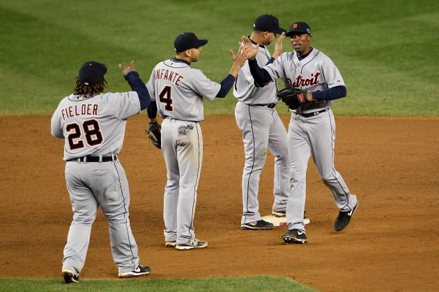 Detroit Tigers vs. New York Yankees: Game 2 ALCS Matchups