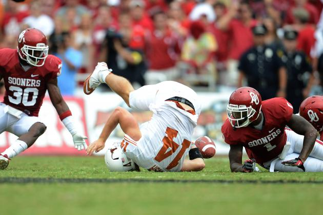 Texas Football: Grading All 22 Starters from the Oklahoma Game