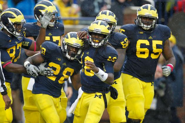 Michigan Football: Grading All 22 Starters from the Illinois Game