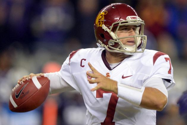 2013 NFL Mock Draft: Matt Barkley and Falling 1st-Round Prospects
