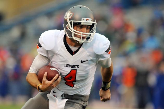 Oklahoma State Football: Grading All 22 Starters from the Kansas Jayhawks Game
