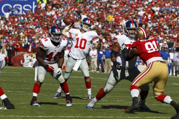 Giants vs. 49ers: New York's Biggest Winners and Losers from NFL Week 6