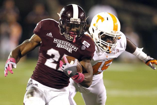 Tennessee Football: Grading All 22 Starters from the Mississippi State Game