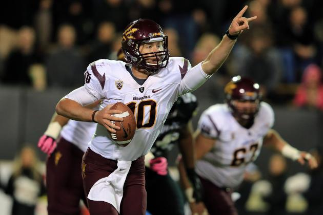 Oregon vs. Arizona State: Breaking Down the Starting QBs Pac-12 Battle