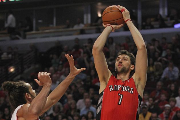 10 Biggest Games on Toronto Raptors' 2012-13 Schedule