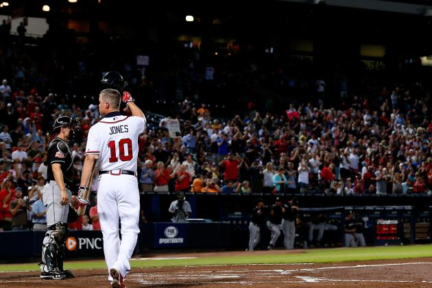 Chipper Jones: Power Ranking the Greatest Moments of His Career