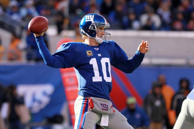 Fantasy Football: Eli Manning Leads 'Early Guide to Week 7 Success'