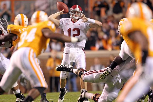 Alabama Crimson Tide vs. Tennessee Volunteers: Complete Game Preview