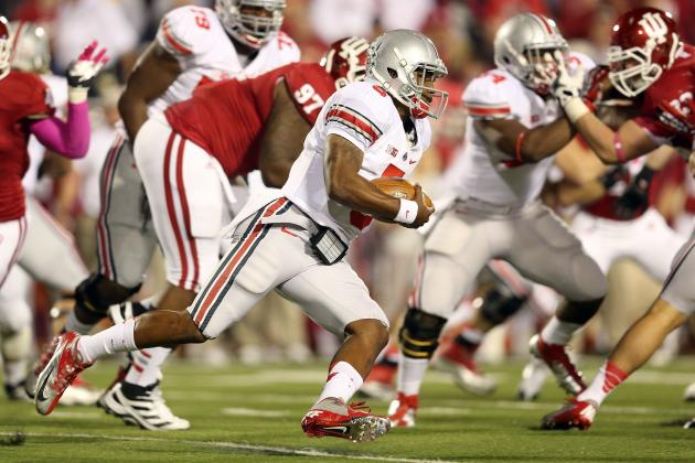 Big Ten Football: 2012 Midseason Award Winners