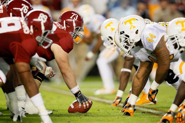 Alabama vs. Tennessee: Third Saturday in October Rivalry Has Not Lost Its Luster