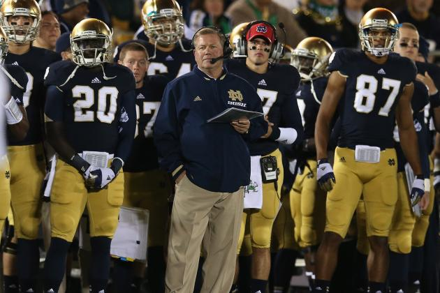 Notre Dame Offense: Mid-Season Grades for Each Position