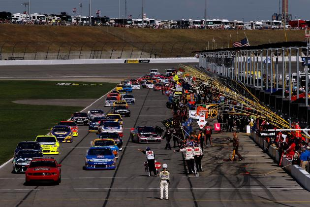 NASCAR Sprint Cup: 10 Drivers Who'll Be in the Running at Kansas