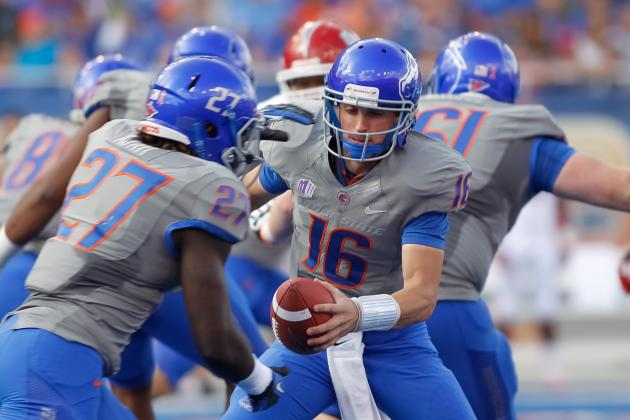 Boise State Football: Midseason Report Card for the Broncos Offense