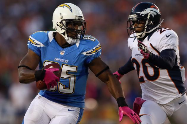 Fantasy Football: Antonio Gates Headlines Week 7 Stock Report
