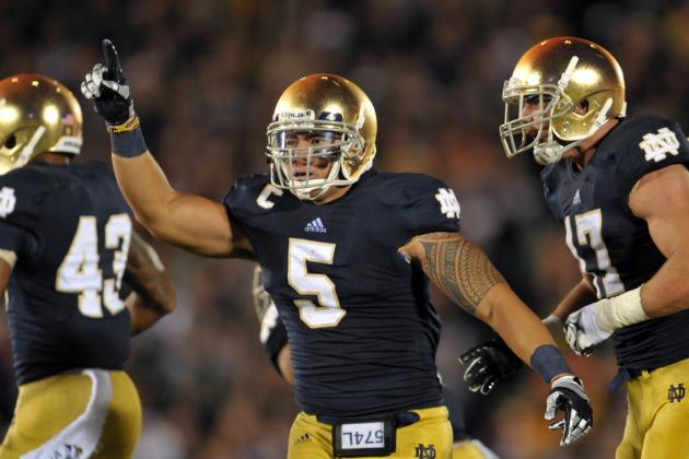 Notre Dame Football: Manti Te'o Heisman Moments from First Half of 2012