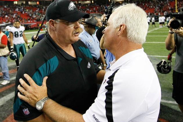 Atlanta Falcons vs. Philadelphia Eagles: History Says Falcons Will Lose