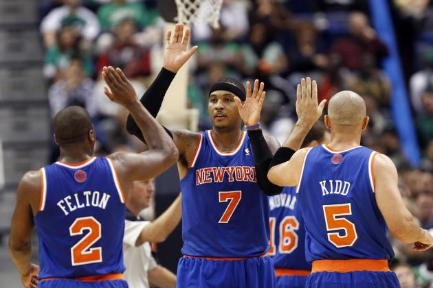 Ranking the 2012-13 Roster Against Each NY Knicks Team of the Past Decade