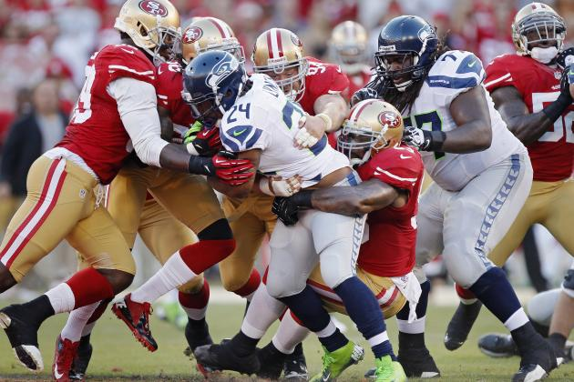 Marshawn Lynch and 7 NFL Players Defenders Hate to Tackle