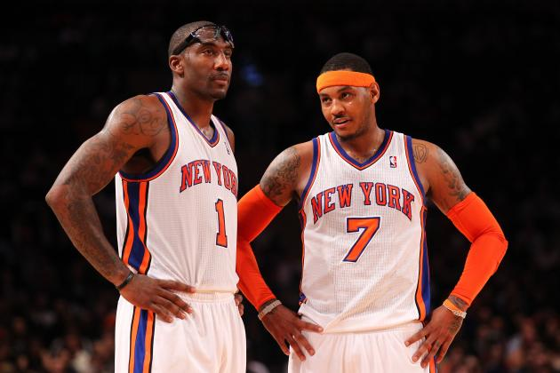 5 Predictions for Carmelo Anthony and Amar'e Stoudemire's First Full Season