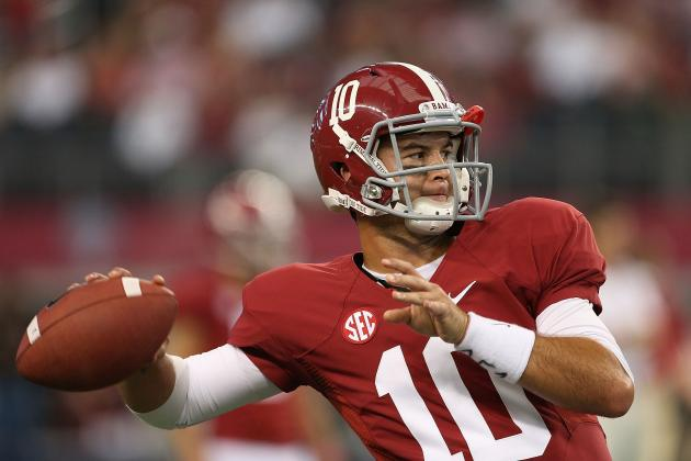 Alabama vs. Tennessee: Breaking Down QB Battle of Tyler Bray vs. A.J. McCarron
