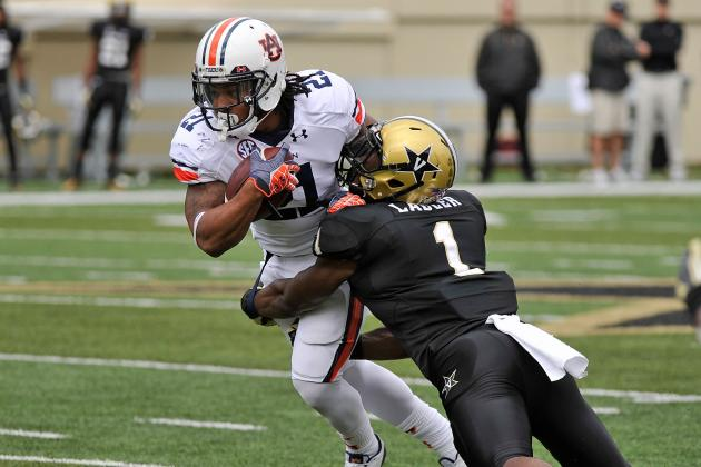 Auburn Football: 10 Things We Learned from the Tigers' Loss vs. Vanderbilt