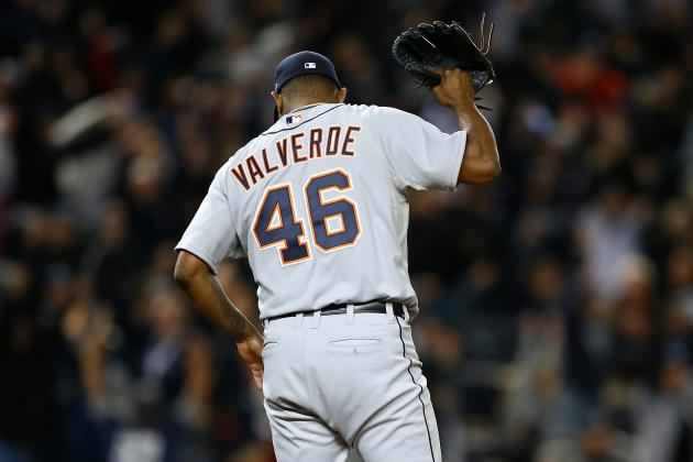 4 Reasons Detroit Tigers Must Replace Jose Valverde This Offseason