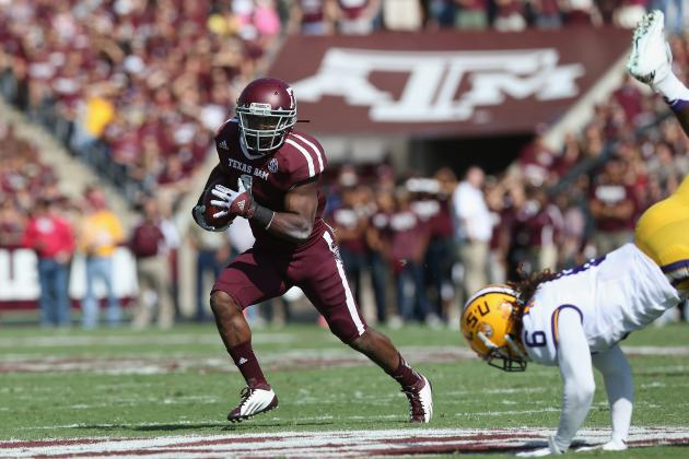 Breaking Down Texas A&M's Spot in the BCS Rankings