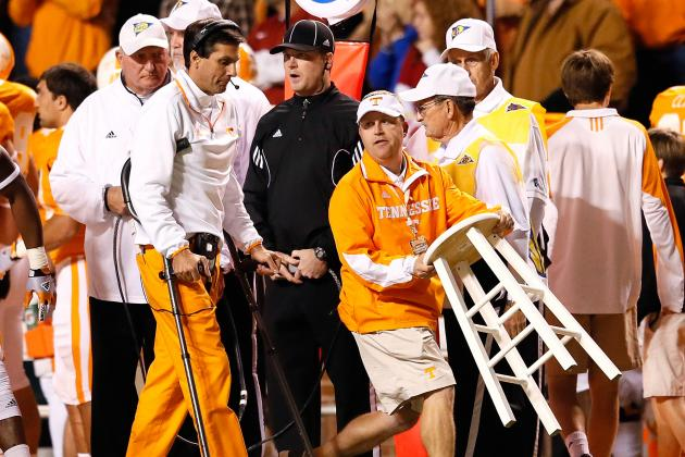 Tennessee Football: Grading All 22 Starters from the Alabama Game