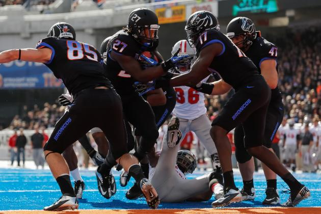 Boise State Football: Grading All 22 Starters from the UNLV Game
