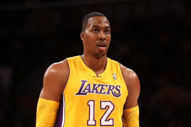 Grading Dwight Howard's First Preseason Game as a Los Angeles Laker