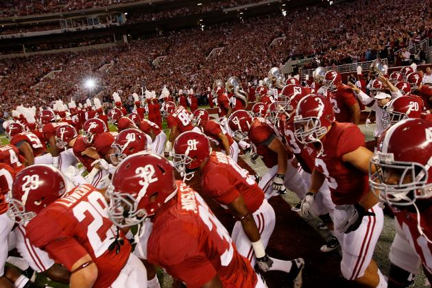 Alabama Football: Grading All 22 Starters from the Tennessee Game