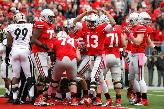 Ohio State Football: Grading All 22 Starters from the Purdue Game