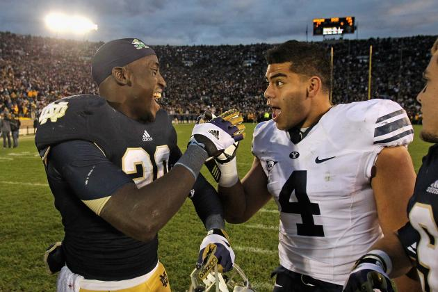 Notre Dame Football: Grading All 22 Starters from the BYU Game