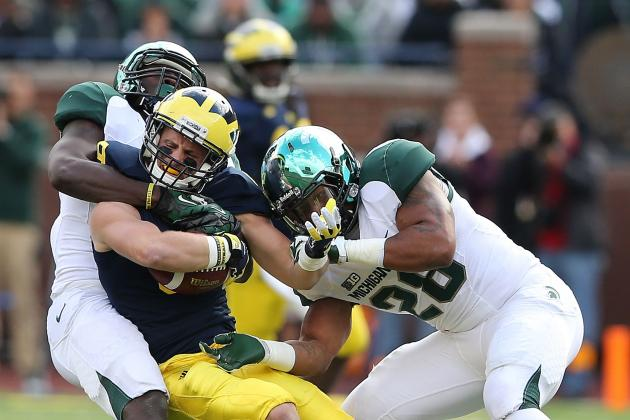 Michigan Football: Winners and Losers from Week 8 Game Against Michigan State