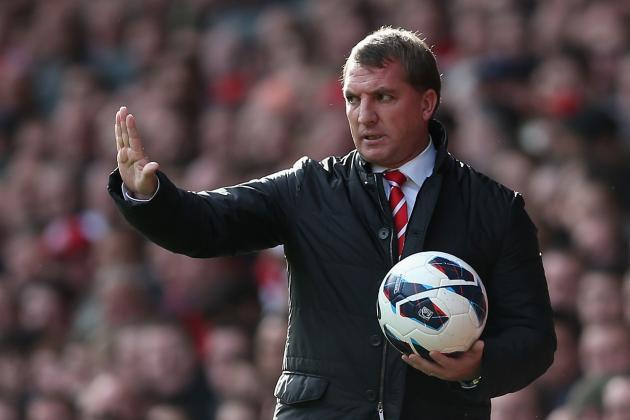 Liverpool vs. Anzhi Makhachkala: 5 Moves Brendan Rodgers Must Make for the Reds