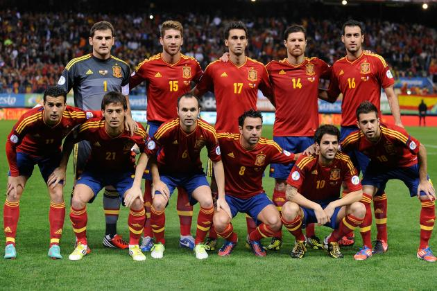 10 Spain Players Who Have Already Clinched Spots on 2014 World Cup Roster