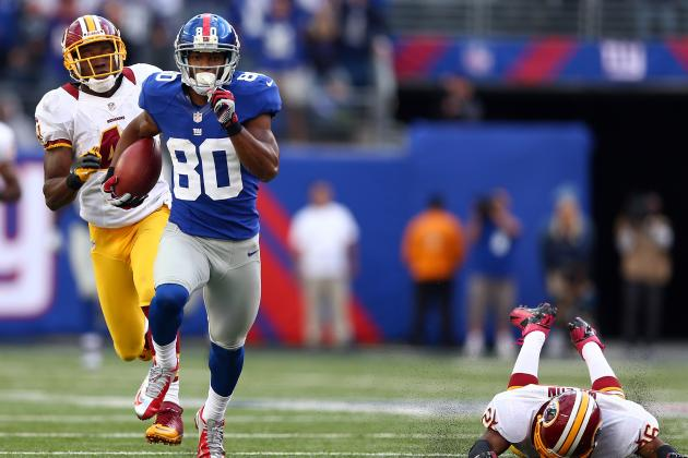 Victor Cruz and the Most Dependable WRs in the NFL
