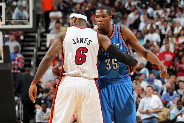 2012-13 NBA MVP Odds: Can Anyone Knock Off LeBron James?
