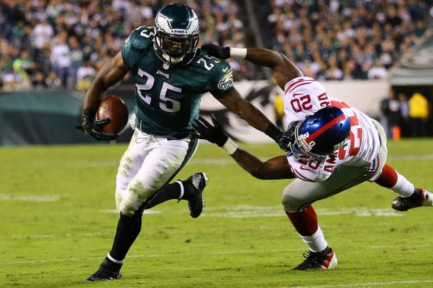 Fantasy Football: LeSean McCoy Leads 'Early Guide to Week 8 Success'