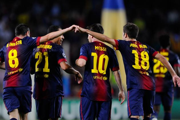 Rating the Barcelona Players Against Celtic in the Champions League Win