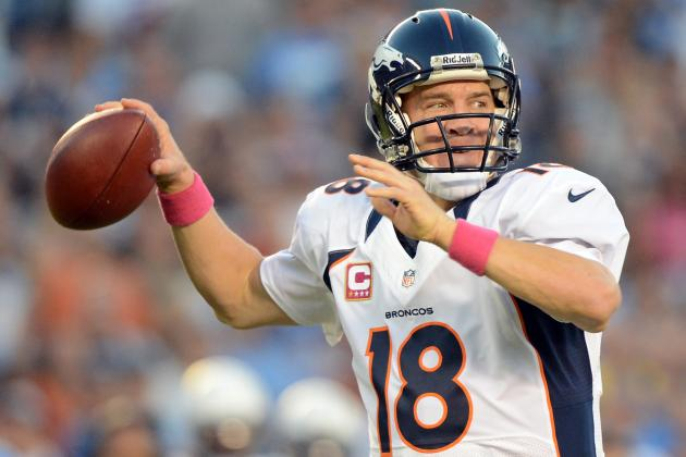 Peyton Manning and 7 Fantasy Stars to Watch in Week 8