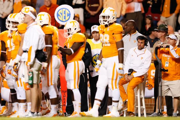 Tennessee Football: The 3 Biggest Problems Facing Derek Dooley's Program