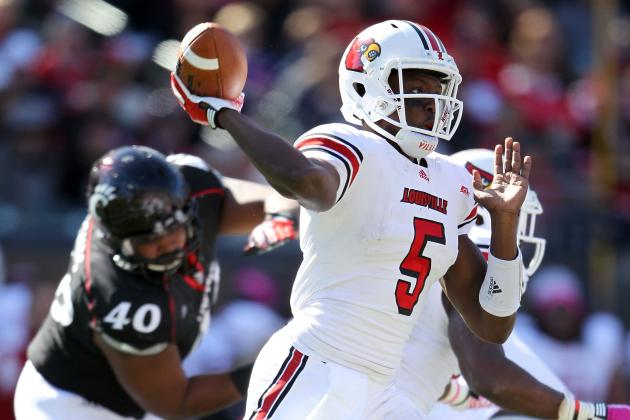 Teddy Bridgewater vs. Munchie Legaux: Which QB Will Win This Big East Showdown?