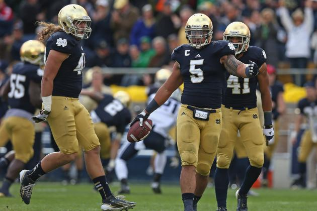 Notre Dame Defense: Midseason Grades for Each Position